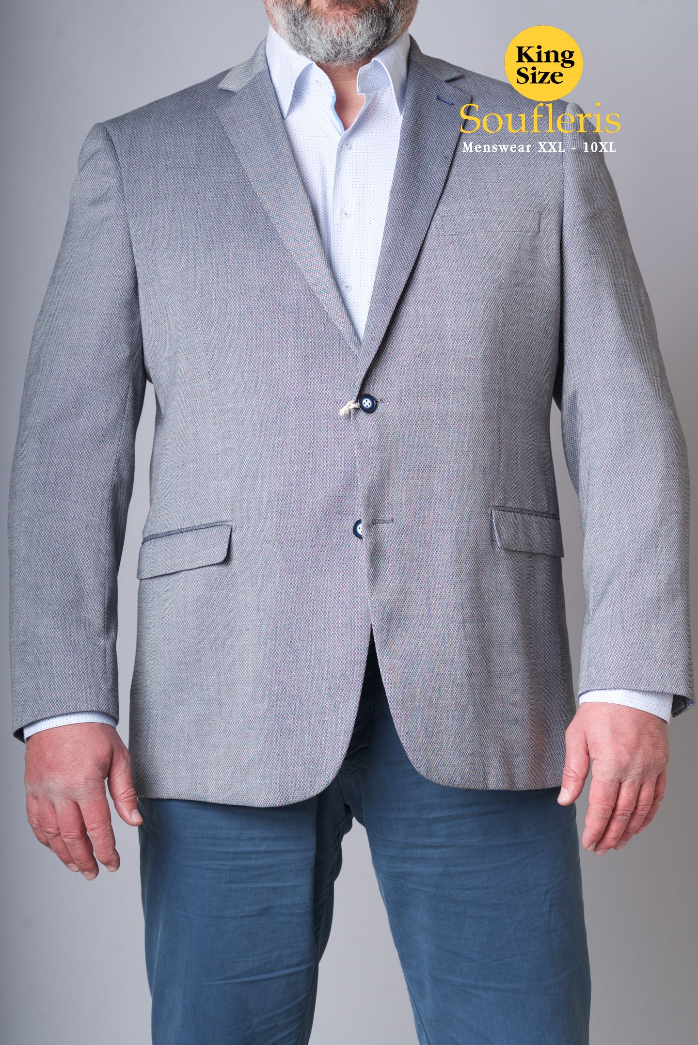e1b5042a5827 ΚΟΣΤΟΥΜΙΑ  ΣΑΚΑΚΙΑ   ΣΑΚΑΚΙ MASTER TAILOR 35% VISCOZE 65% POLY ...