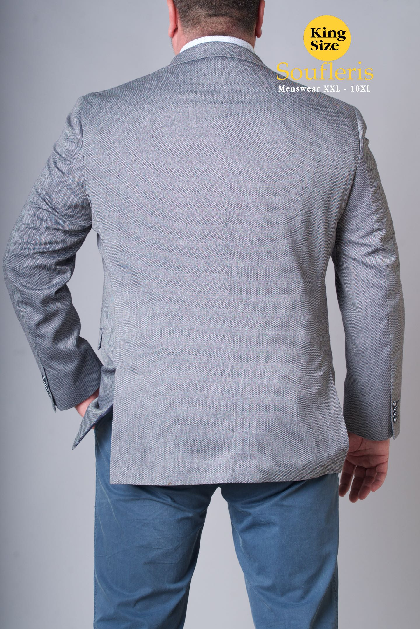 b980d7a8f4a9 ... ΣΑΚΑΚΙ MASTER TAILOR 35% VISCOZE 65% POLY - 00000764 - ΓΚΡΙ ...