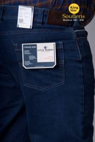 ΠΑΝΤΕΛΟΝΙ JEAN LUIGI MORINI. - 00002521 - MEDIUM BLUE DENIM