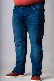 TZIN SENIOR ME ΕΛΑΦΡΙΑ ΦΘΟΡΑ - 00003122 - MEDIUM BLUE DENIM