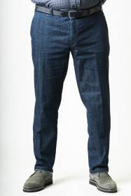 ΠΑΝΤΕΛΟΝΙ ΤΖΙΝ CHINOS LUIGI MORINI REGULAR FIT PERFECT COMFORT - 00003554 - DARK BLUE DENIM