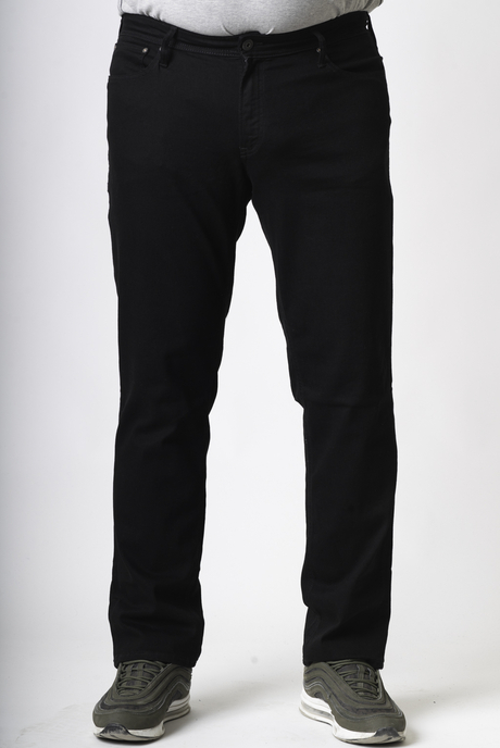 XXL ΤΖΙΝ JACK & JONES ΚΑΘΟΛΟΥ ΦΘΟΡΕΣ. - 00002870 - BLACK DENIM KingSizeSoufleris