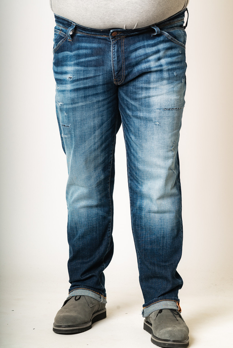 XXL JEAN JACK AND JONES - 00003131 - MEDIUM BLUE DENIM KingSizeSoufleris
